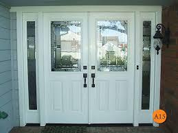 front doors with side lights double front door with sidelights for decoration front doors
