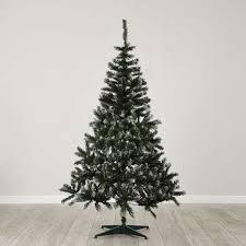 frosted christmas tree 6ft frosted christmas tree dunelm