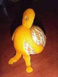 Meme Man - orange man meme guy