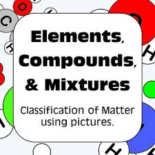 elements compounds and mixtures classification of matter by