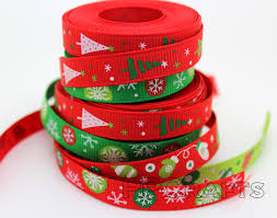 3 8 inch ribbon aliexpress buy green mixed christmas design 3 8 inch 9mm