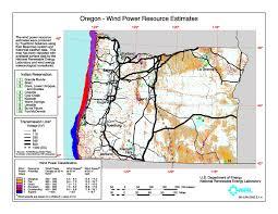 Oregon Blm Maps by Wind Energy Development Maps