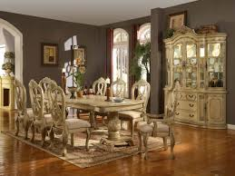White Kitchen Table Sets Dining Room Set The Weston Formal Antique White Wash Dining Room