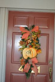 fall door decor ouida us