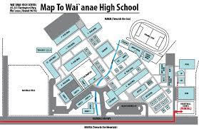 bell schedule campus map kaleo o waiʻanae