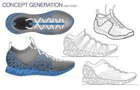 shoe design software 3ders org rethinking shoes two students develop footprint 3d