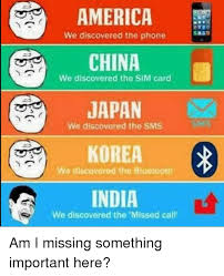 Japan Meme - america china japan korea india we discovered the phone we