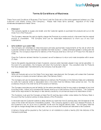 terms and conditions template tristarhomecareinc