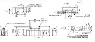 g1 4 two position five way solenoid valve smc equivalent