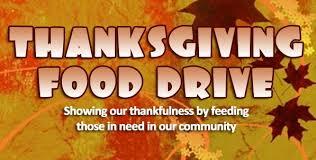 hca thanksgiving food drive gulf high school