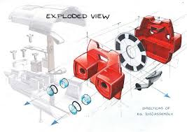 best 25 exploded view ideas on pinterest product sketch