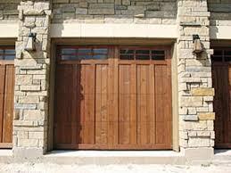 Wood Overhead Doors Custom Wood Garage Doors In Tx Cedar Park Overhead Doors