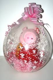 balloons with gifts inside peppa pig stuffed balloon gift in a balloon peppa pig teddy in