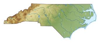 Nc State Map Large Relief Map Of North Carolina State North Carolina State
