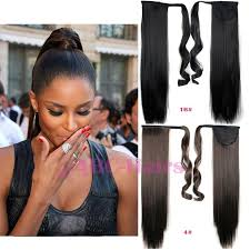 ponytail hair extensions wholesale 24 inch ponytail avilable ribbon ponytail