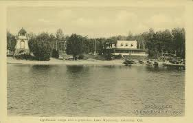Lighthouse Lodge Cottages by Index Of Postcard History Callander