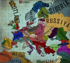 Map Of Benghazi An Alternate Europe Map 1 0 By Aenmaps On Deviantart
