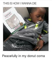 One Ring To Rule Them All Meme - this is how i wanna die peacefully in my donut coma meme on