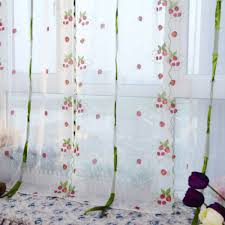 Kitchen Curtains With Fruit Design by Curtains Sheers Picture More Detailed Picture About Romantic 1