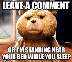 Photo Comment Meme - please leave a comment by meme ator on deviantart