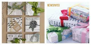 newspaper wrapping paper used ca why use gift wrap when you can use used ca