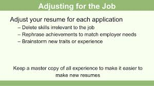 How To Fill Out A Job Resume by How To Create A Resume For A Teenager 13 Steps With Pictures