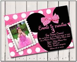 custom minnie mouse birthday invitations 44584 linegardmed com
