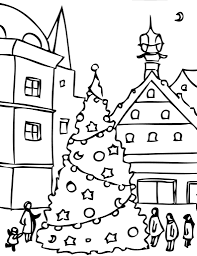 fresh ideas holiday coloring pages printable winter holiday