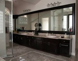 Framing An Existing Bathroom Mirror Custom Made Mirrors For Bathrooms Porcelain Tile That Looks Like