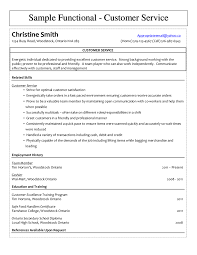 Sample Resume For Customer Care Executive by Customer Service Resume Free Customer Service Resume Templates