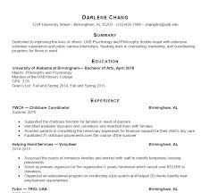 sample resume for a job uab students career professional development sample resumes sample resume 2