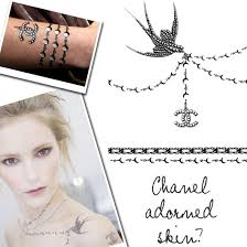 the 25 best chanel tattoo ideas on pinterest necklace tattoo