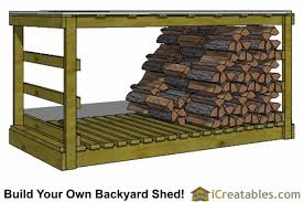 Plans To Build A Firewood Shed by 4x8 Shed Plans 4x8 Storage Shed Plans Icreatables Com