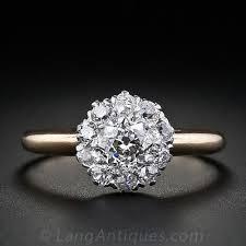 cluster rings cluster engagement rings 2017 wedding ideas magazine weddings