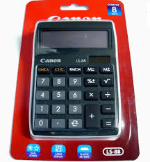 calculatrice bureau calculatrice de bureau canon ls 88 à pile solaire calculator for