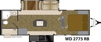 Wilderness Rv Floor Plans Rocky Mountain Rv 2018 Wilderness 2775rb