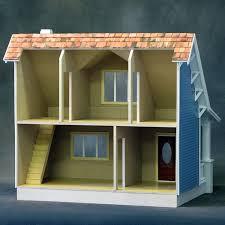 amazon com real good toys beachside bungalow dollhouse kit 1