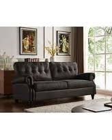 Handy Living Sofa Amazing Deal Handy Living Victoria Sofast Sofa In Tan Distressed