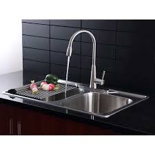 kitchen sink and faucet sets enchanting afa stainless 33 kitchen sink and pull faucet