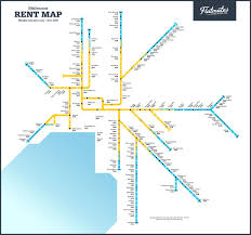 train maps show the ridiculous cost of renting in australian cities