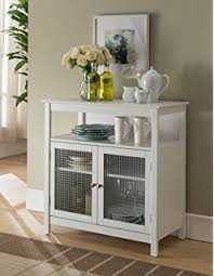 furniture for kitchen storage amazon com simple living sliding door stackable espresso cabinet