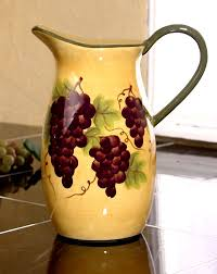 grape canister sets kitchen decorations tuscany grape wine decor kitchen 4pc canister set