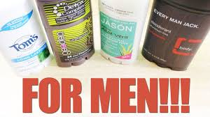 whole foods natural and organic deodorant review for men youtube