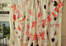 Blood Shower Curtain Blood Spatter Curtains U0026 Free Bloody Printable Banner
