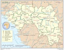Senegal Map Guinea Ebola Africa U0027s Response Guinea Liberia Mali