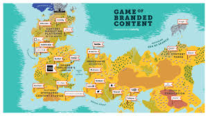 Map Of Westeros World by Content Marketing Catchup The Content Marketing World As Westeros