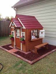 Backyard Playhouse Ideas Backyard Play House Best 25 Backyard Playhouse Ideas On Pinterest