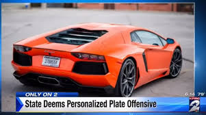 personalize plates the dmv recently declared the license plate 370h55v to be