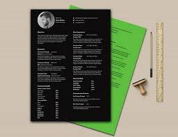 10 gorgeous minimalist resume templates the american genius