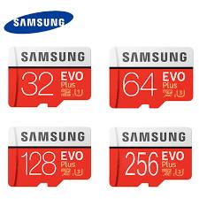 Memory Card Samsung 256gb samsung u3 memory card 128gb evo plus micro sd card class10 uhs 1